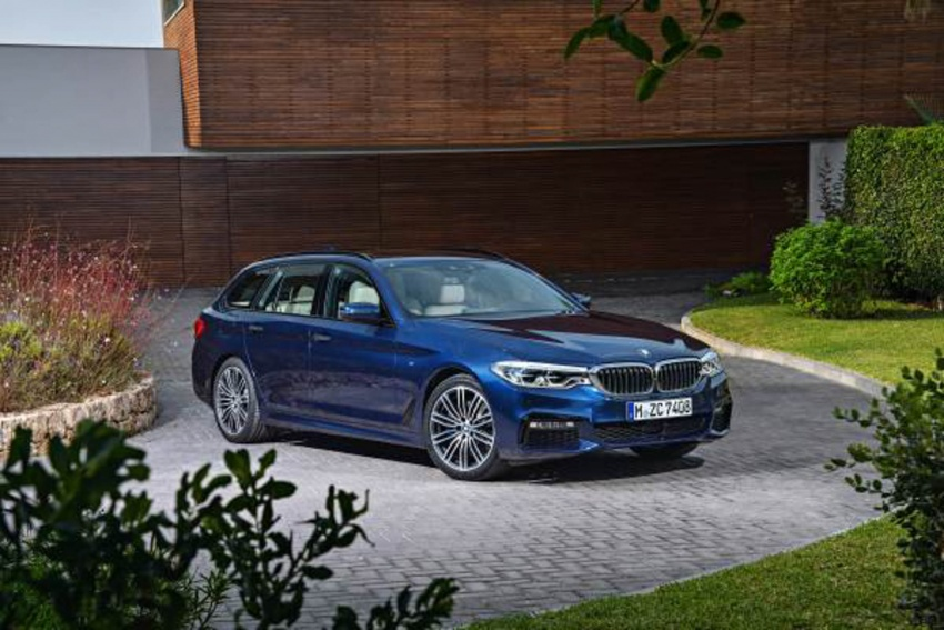G31 BMW 5 Series Touring unveiled – 1,700-litre boot Image #610265
