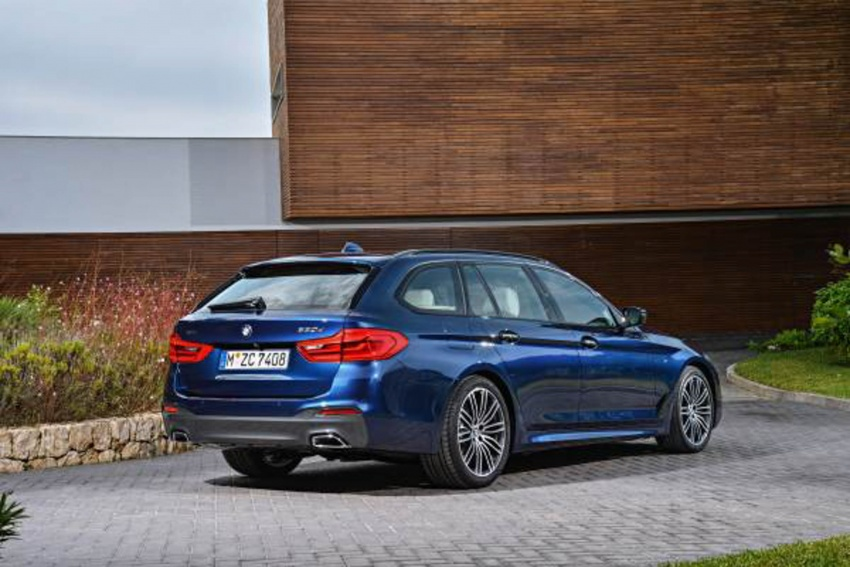G31 BMW 5 Series Touring unveiled – 1,700-litre boot Image #610266