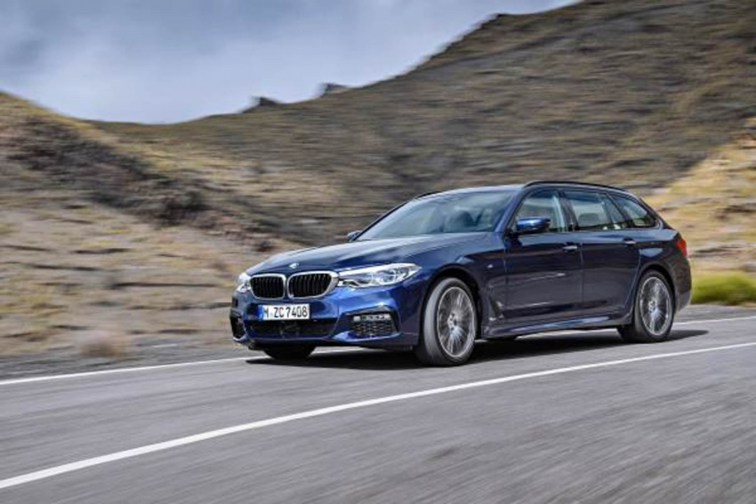 G31 BMW 5 Series Touring unveiled – 1,700-litre boot Image #610267