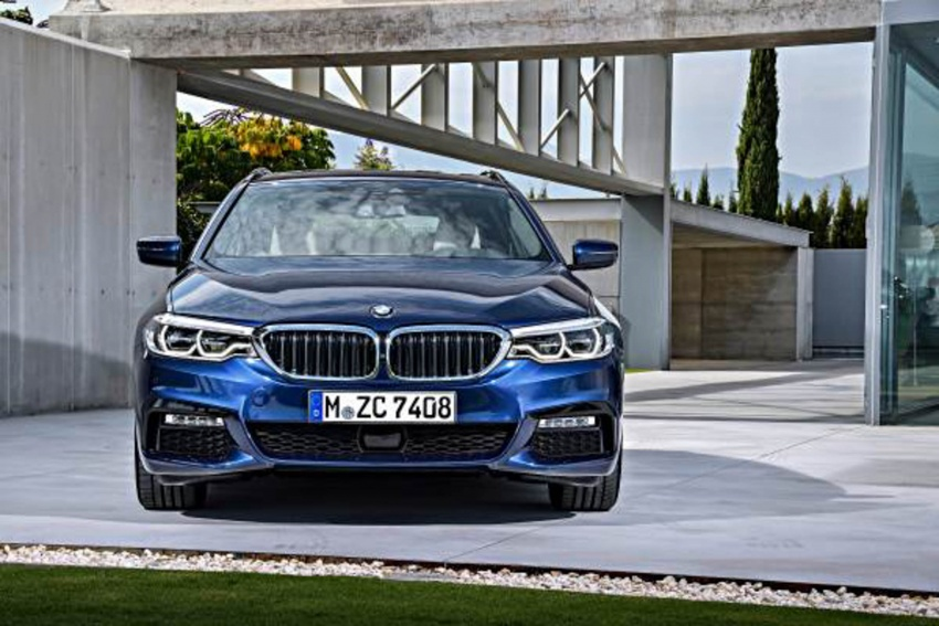 G31 BMW 5 Series Touring unveiled – 1,700-litre boot Image #610270