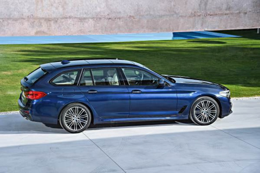 G31 BMW 5 Series Touring unveiled – 1,700-litre boot Image #610271