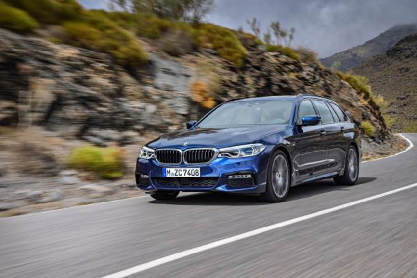 G31 BMW 5 Series Touring unveiled – 1,700-litre boot Image #610273