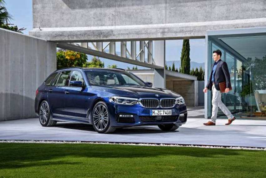 G31 BMW 5 Series Touring unveiled – 1,700-litre boot Image #610274