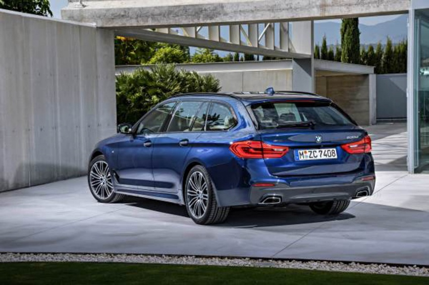 G31 BMW 5 Series Touring unveiled – 1,700-litre boot Image #610276