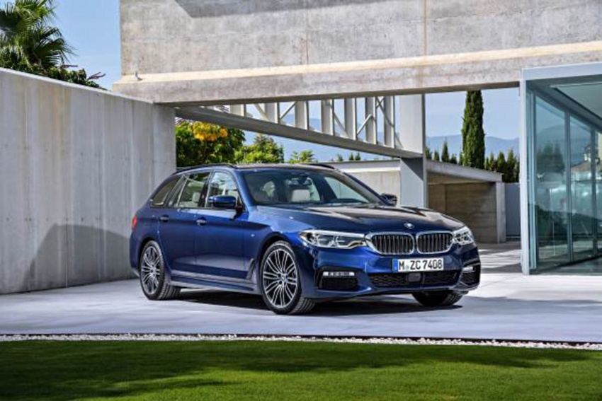 G31 BMW 5 Series Touring unveiled – 1,700-litre boot Image #610278