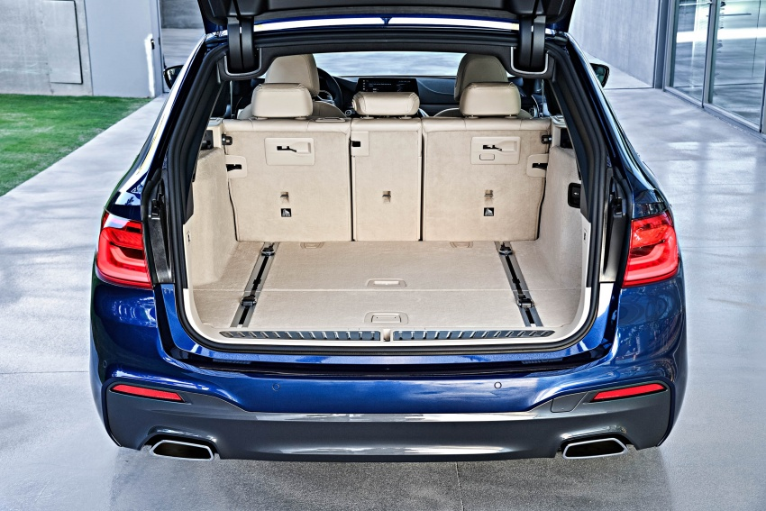 G31 BMW 5 Series Touring unveiled – 1,700-litre boot Image #610308