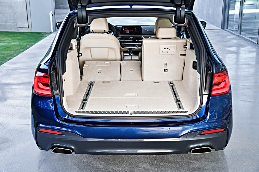 G31 BMW 5 Series Touring unveiled – 1,700-litre boot Image #610309