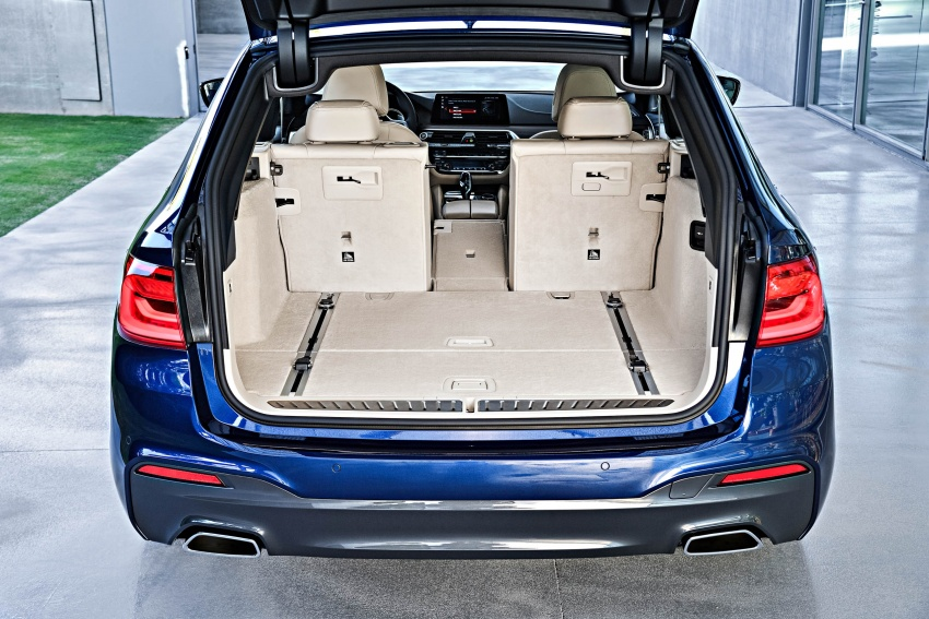 G31 BMW 5 Series Touring unveiled – 1,700-litre boot Image #610310