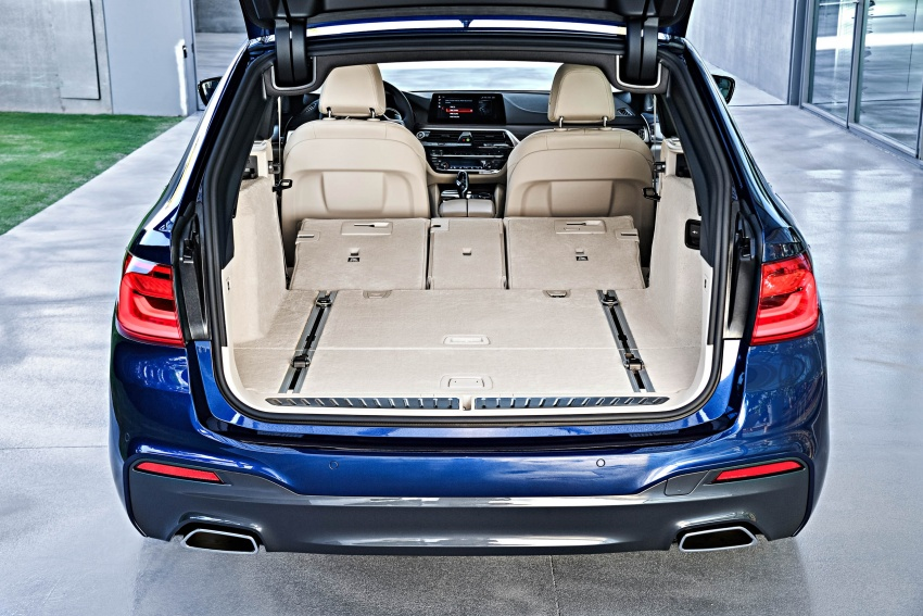 G31 BMW 5 Series Touring unveiled – 1,700-litre boot Image #610311