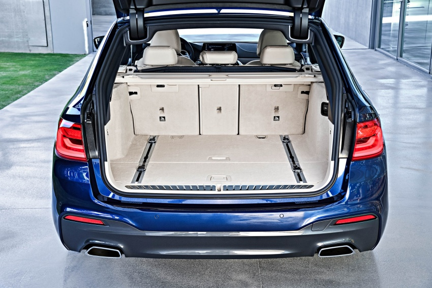 G31 BMW 5 Series Touring unveiled – 1,700-litre boot Image #610312