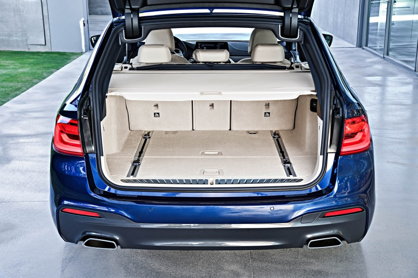G31 BMW 5 Series Touring unveiled – 1,700-litre boot Image #610313