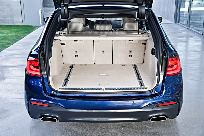 G31 BMW 5 Series Touring unveiled – 1,700-litre boot Image #610314