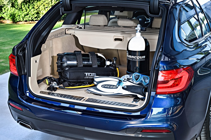 G31 BMW 5 Series Touring unveiled – 1,700-litre boot Image #610316