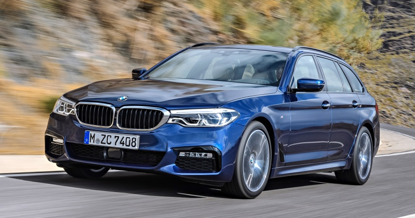 G31 BMW 5 Series Touring unveiled – 1,700-litre boot Image #610126