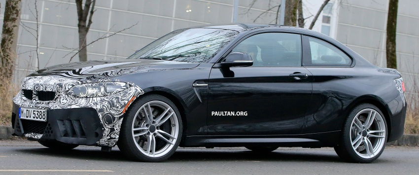 SPYSHOTS: BMW M2 facelift – minor exterior changes Image #612943