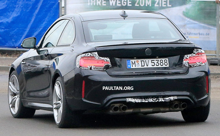 SPYSHOTS: BMW M2 facelift – minor exterior changes Image #612949