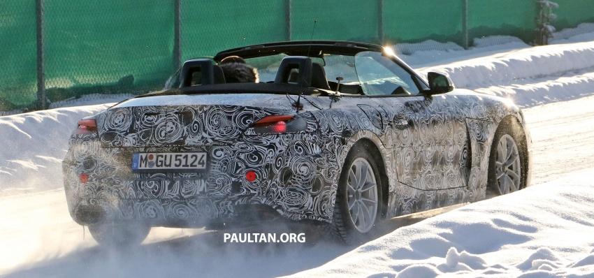 SPYSHOTS: BMW Z5 does winter trials with Supra twin Image #618144