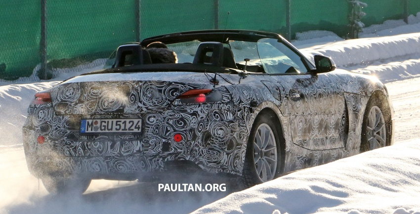 SPYSHOTS: BMW Z5 does winter trials with Supra twin Image #618145
