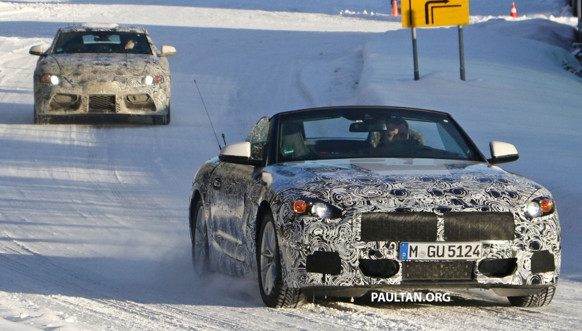 SPYSHOTS: BMW Z5 does winter trials with Supra twin Image #618136