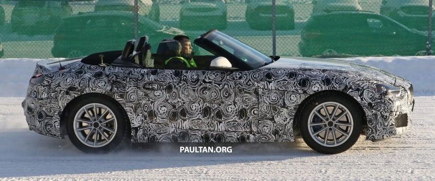 SPYSHOTS: BMW Z5 does winter trials with Supra twin Image #618140