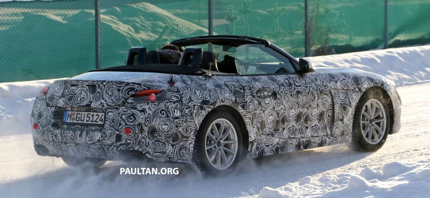 SPYSHOTS: BMW Z5 does winter trials with Supra twin Image #618143