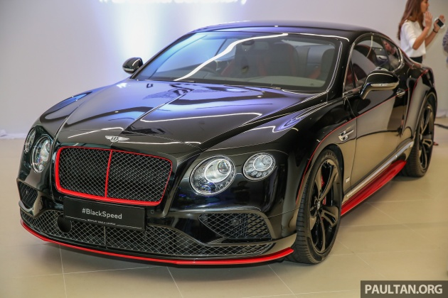 Gallery bentley continental gt black speed by mulliner at new gallery bentley continental gt black speed by mulliner at new kuala lumpur flagship showroom voltagebd Image collections