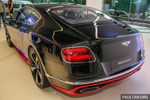 Gallery Bentley Continental Gt Black Speed By Mulliner At New Kuala