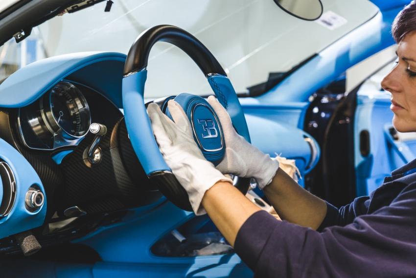 Bugatti Chiron – how a 420 km/h hypercar is born Image #613220