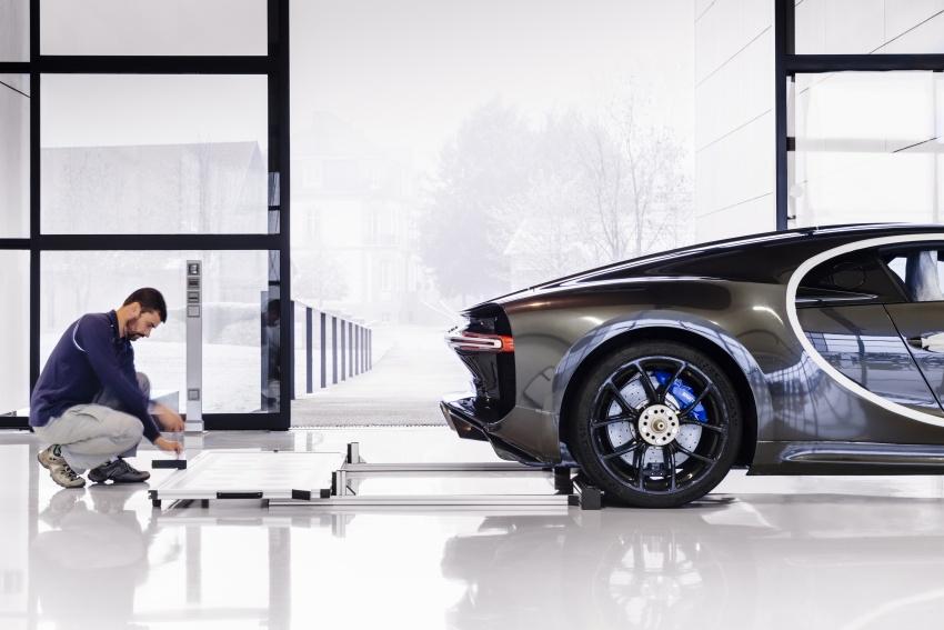 Bugatti Chiron – how a 420 km/h hypercar is born Image #613223