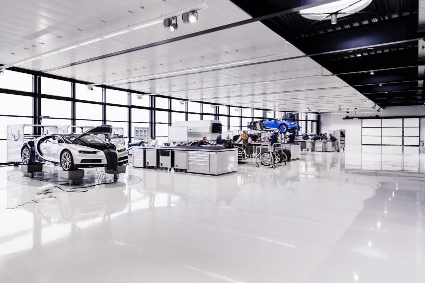 Bugatti Chiron – how a 420 km/h hypercar is born Image #613207