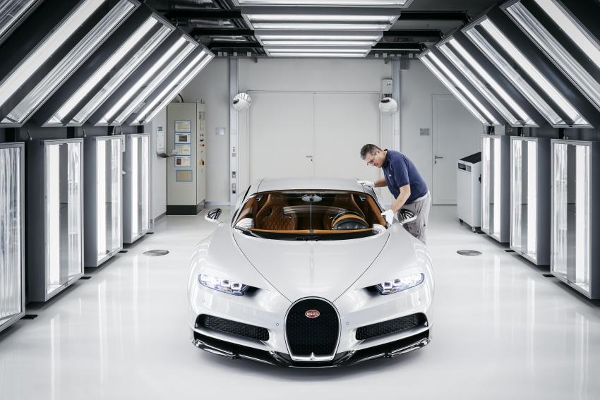 Bugatti Chiron – how a 420 km/h hypercar is born Image #613225