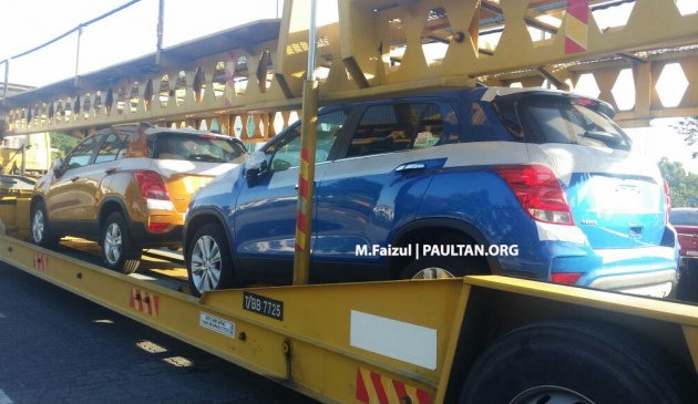 2017 Chevrolet Trax Compact Suv Spotted In Malaysia