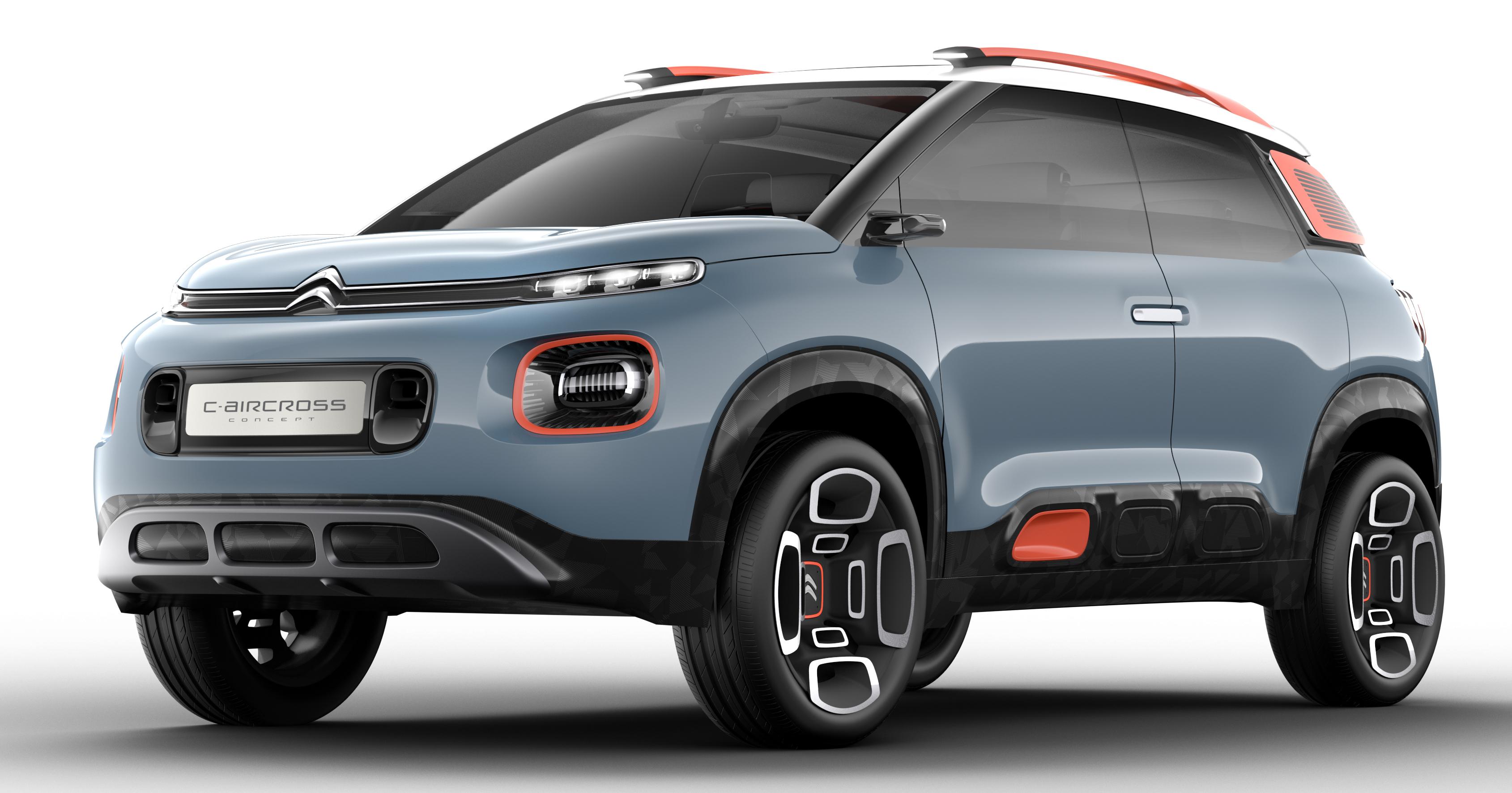 citroen c aircross concept shown new c3 picasso. Black Bedroom Furniture Sets. Home Design Ideas