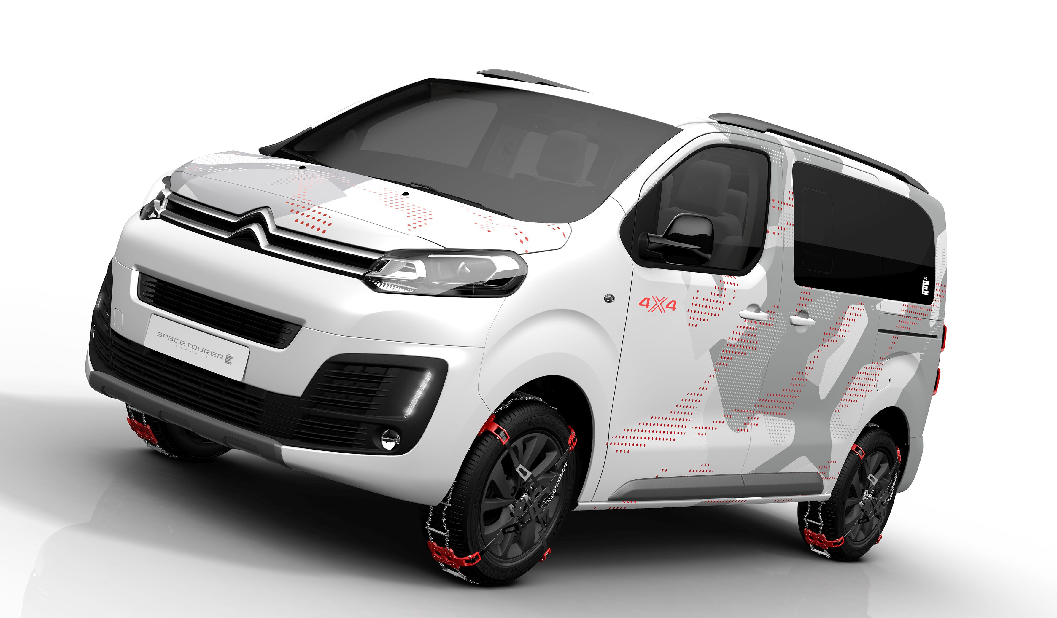 citroen spacetourer 4x4 e concept bound for geneva. Black Bedroom Furniture Sets. Home Design Ideas