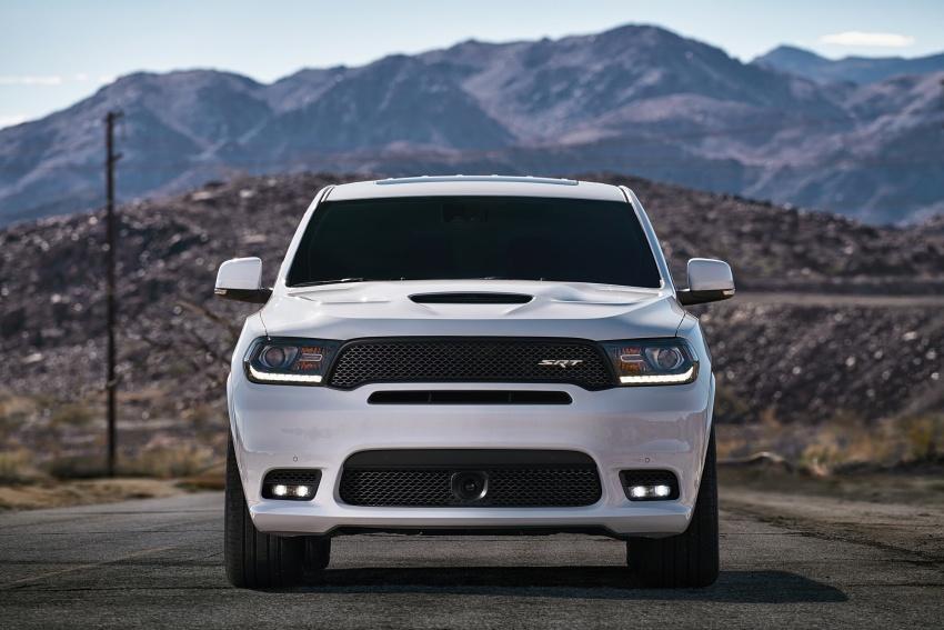 Dodge Durango SRT unveiled – 475 hp three-row SUV Image #613064