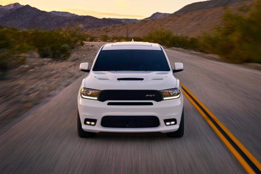 Dodge Durango SRT unveiled – 475 hp three-row SUV Image #613111
