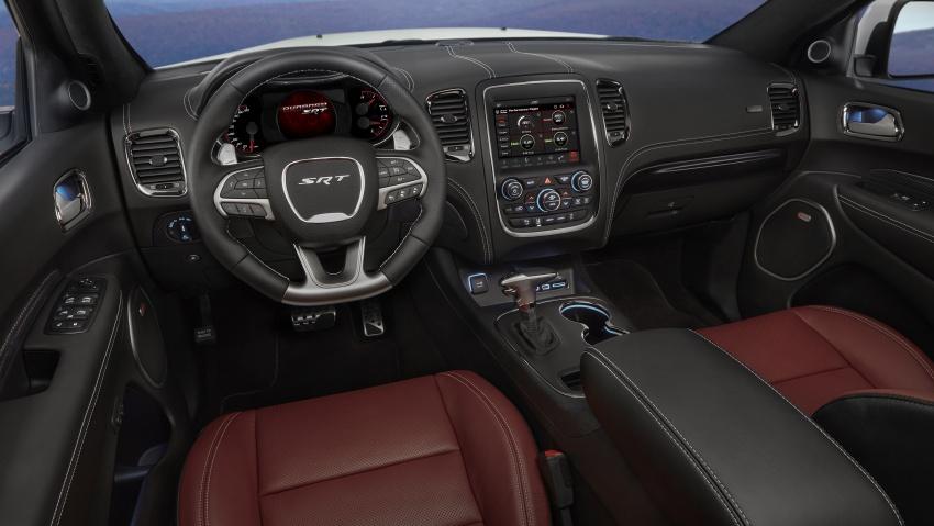 Dodge Durango SRT unveiled – 475 hp three-row SUV Image #613142