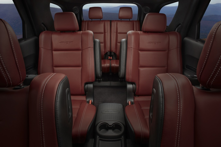 Dodge Durango SRT unveiled – 475 hp three-row SUV Image #613147