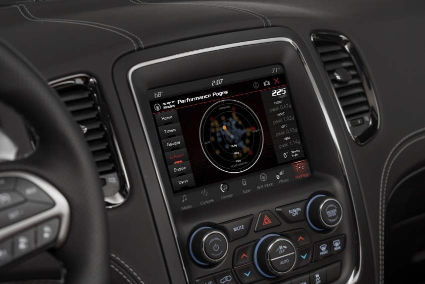 Dodge Durango SRT unveiled – 475 hp three-row SUV Image #613157