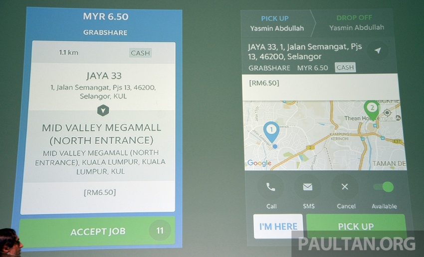 GrabShare launched in Malaysia – on-demand carpooling, max four to a car, 30% lower fares Image #616573
