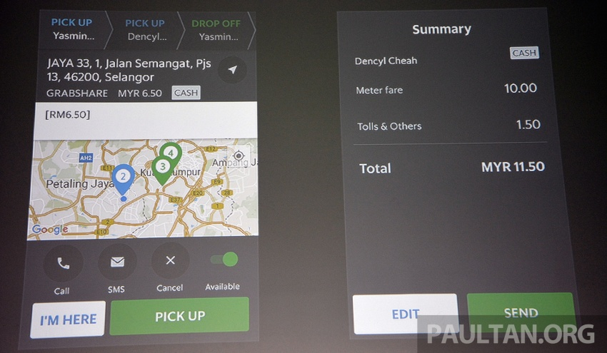 GrabShare launched in Malaysia – on-demand carpooling, max four to a car, 30% lower fares Image #616574