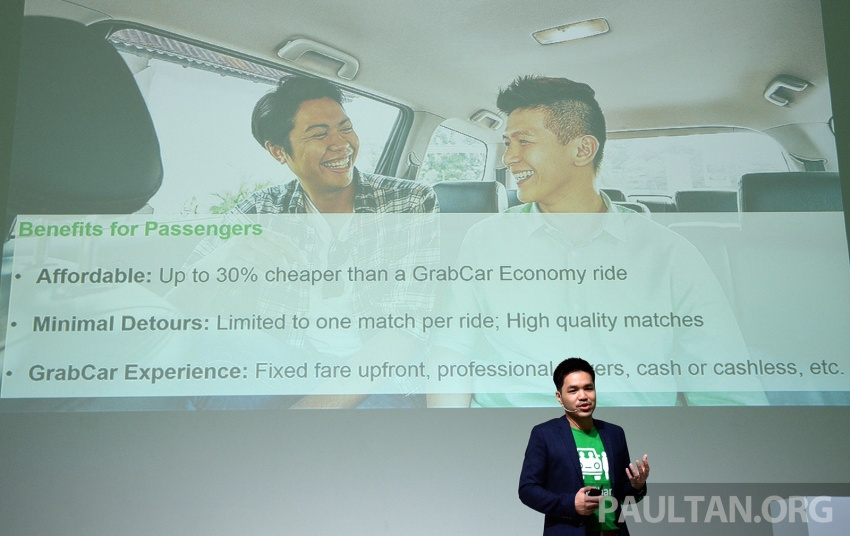 GrabShare launched in Malaysia – on-demand carpooling, max four to a car, 30% lower fares Image #616576