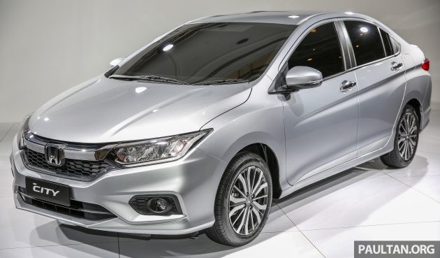GALLERY: Honda City facelift previewed in Malaysia