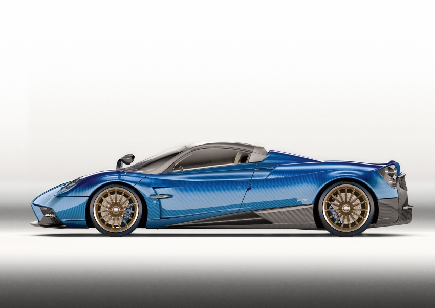 Pagani Huayra Roadster debuts with 764 hp, 1,000 Nm Image #615629