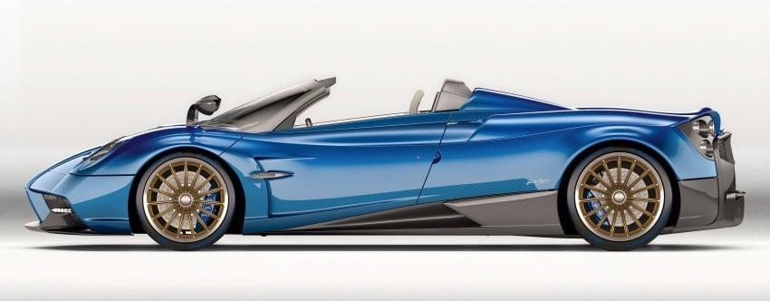 Pagani Huayra Roadster debuts with 764 hp, 1,000 Nm Image #615590
