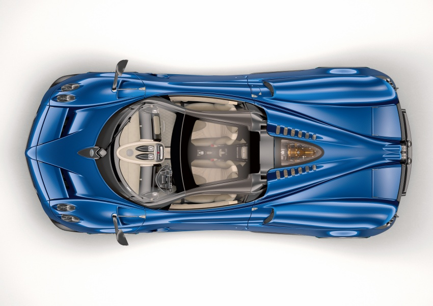 Pagani Huayra Roadster debuts with 764 hp, 1,000 Nm Image #615631