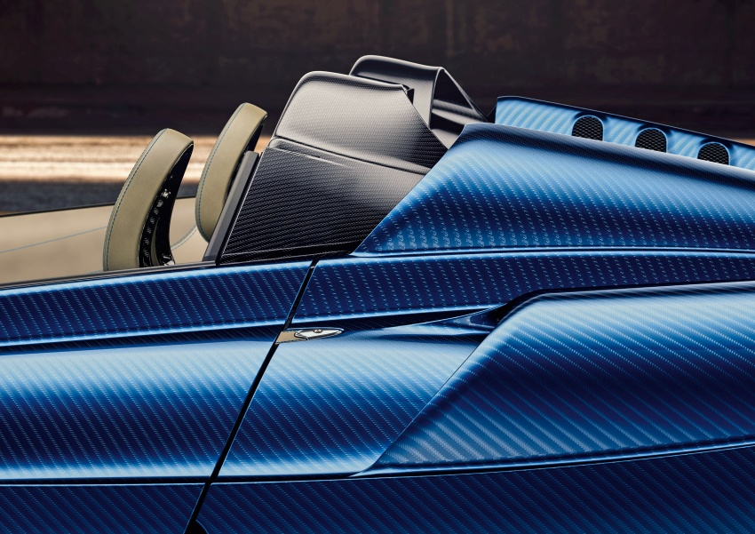 Pagani Huayra Roadster debuts with 764 hp, 1,000 Nm Image #615615