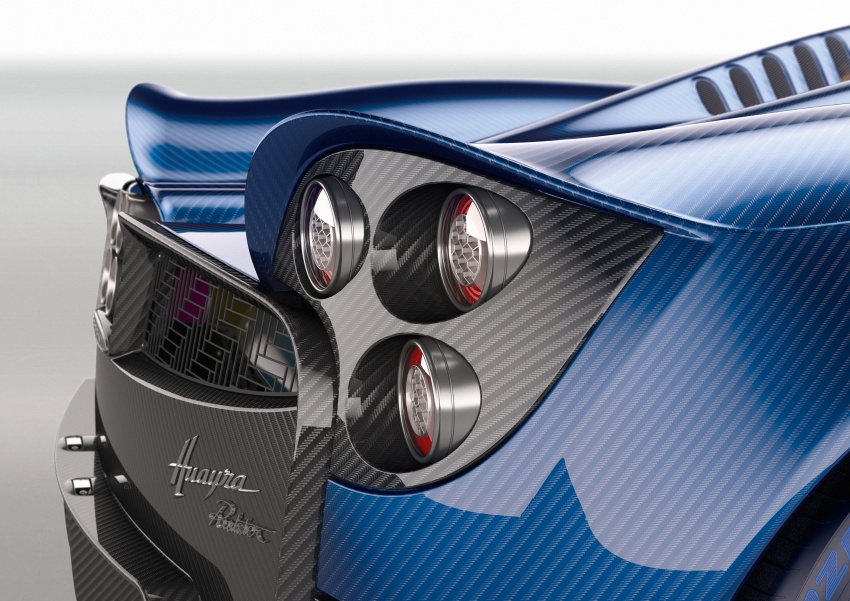 Pagani Huayra Roadster debuts with 764 hp, 1,000 Nm Image #615634