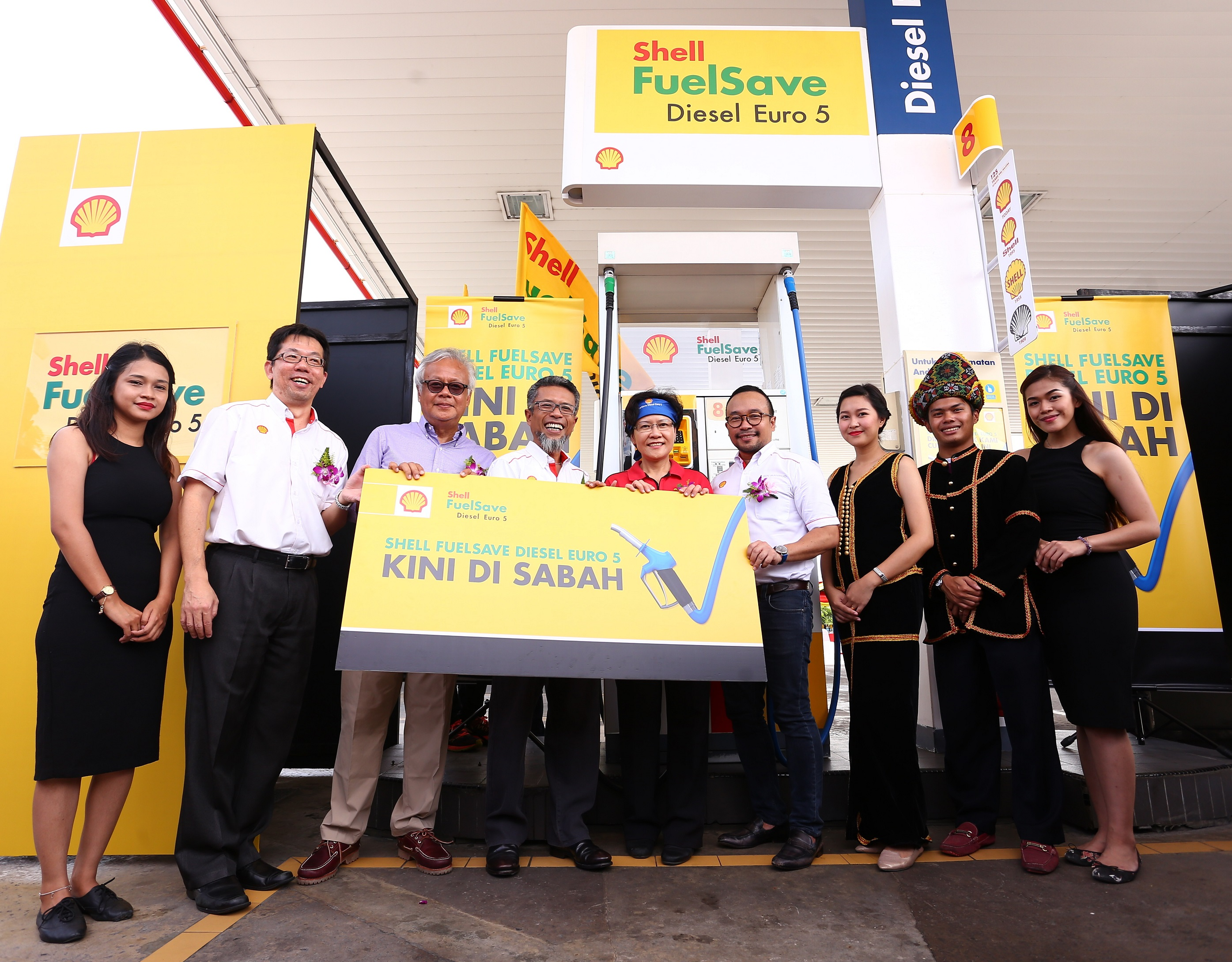 shell fuelsave diesel euro 5 now in sabah first in em. Black Bedroom Furniture Sets. Home Design Ideas