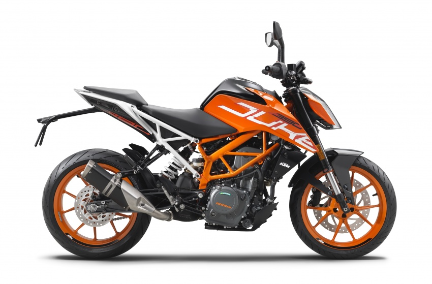 2017 KTM 390 and 250 Duke launched in India – priced at RM15,001 for 390 Duke and RM11,534 for 250 Duke Image #620566